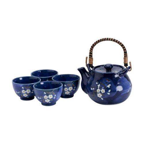 kék sakura teás készlet