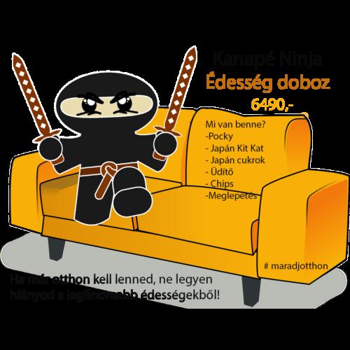 # Kanapé Ninja Édesség csomag