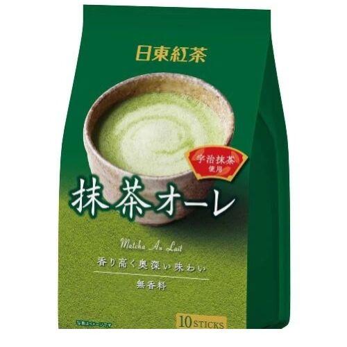 Nitto Matcha Royal Tee Latte zöld tea por ital Japánból 120gr.
