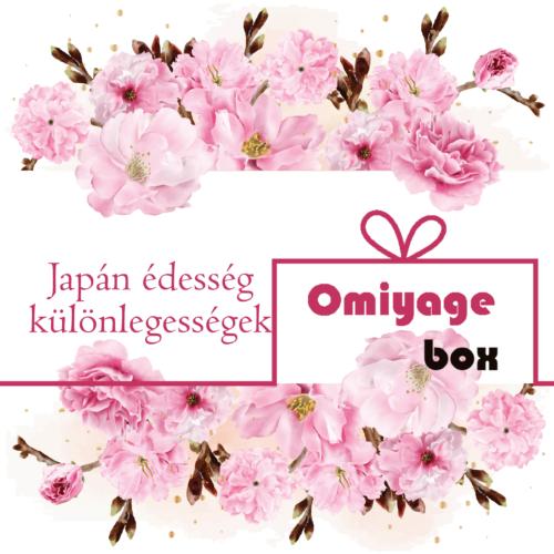 Japán édesség csomag