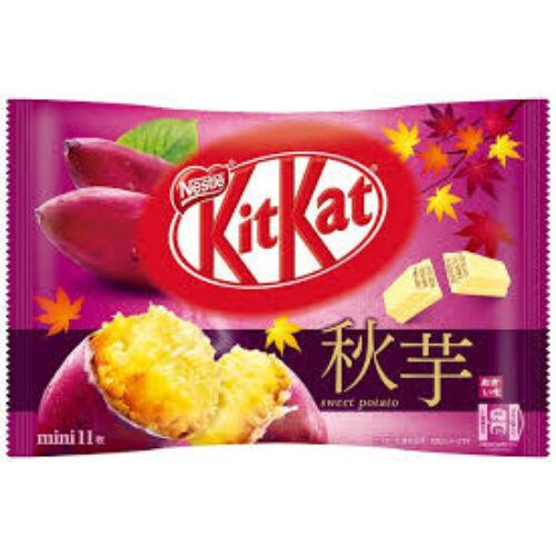 Édes krumpli ízű Kit Kat