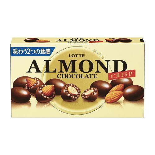 Lotte almond csokis golyók mandulával