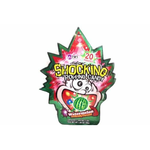 Yuhin robbanós cukorka Eper
