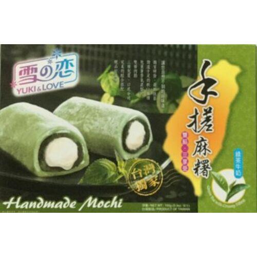 Zöld teás mochi