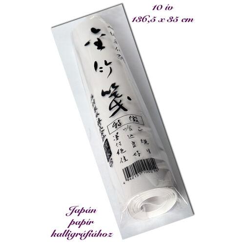 Rizspapír kalligráfiához- Kitamura 10 ív