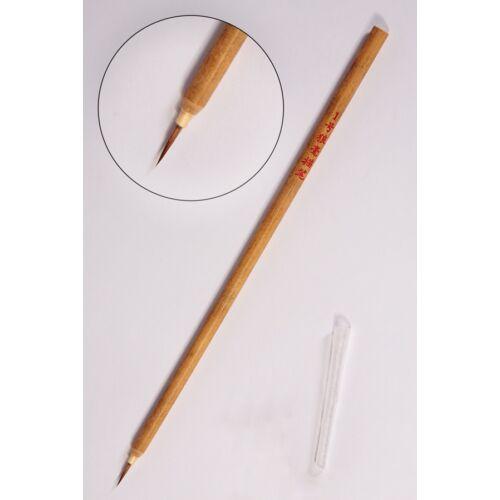 Vékony bambusz ecset kalligráfiához és tusfestéshez