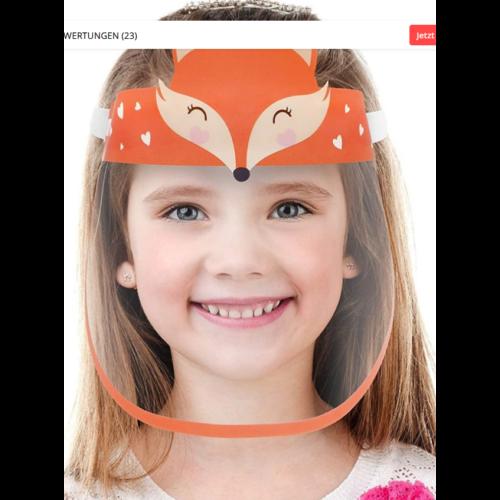 gyerek maszk róka