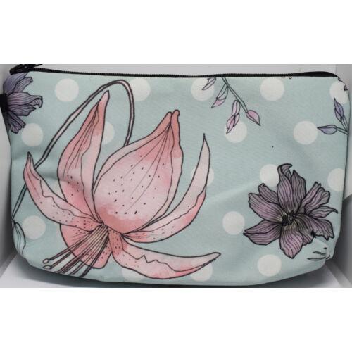 Kawaii liliom kozmetikai táska