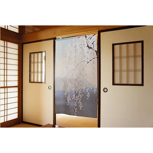 fuji sakura japán noren