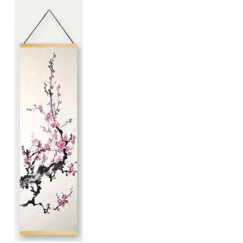 Sakura sumi-e poszter