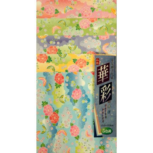 Yuzen papír 25 lap– Kitamura