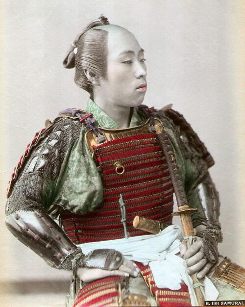 chonmage samurai mizuhiki