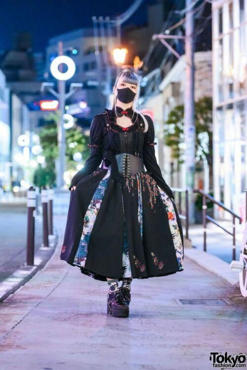 tokyo divat japán divat extrém divat